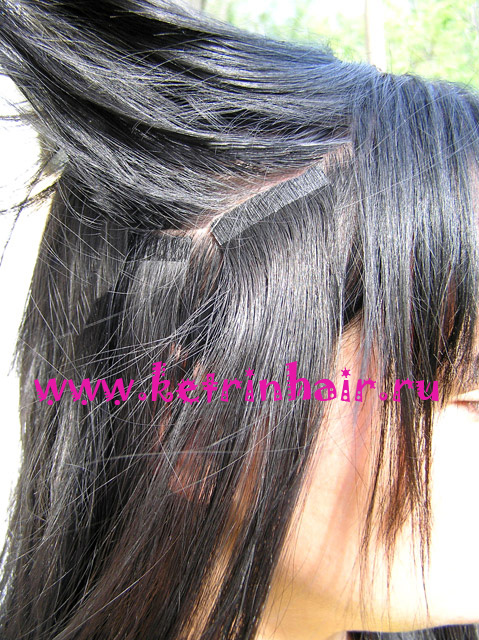 Ленточное b Наращивание волос/b.  Цены.